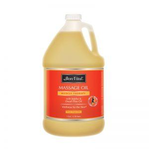 Aceite para masaje Bon Vital Muscle Therapy 1 Galón