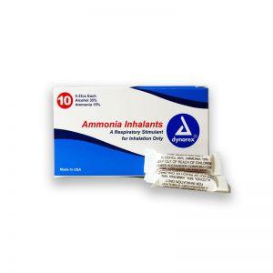 Cápsulas inhalantes de sales de amoniaco