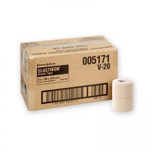 """Caja Venda Elastikon 3""""  C/16 Johnson & Johnson"""