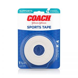 "Rollo Coach Sports Tape 1.5"" Johnson & Johnson"