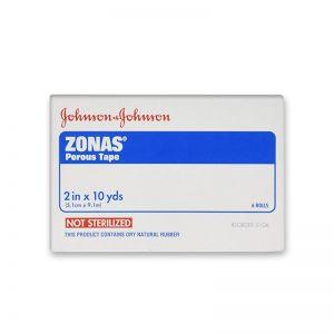 "Caja Zonas Porous Tape 2"" C/6 Johnson & Johnson"